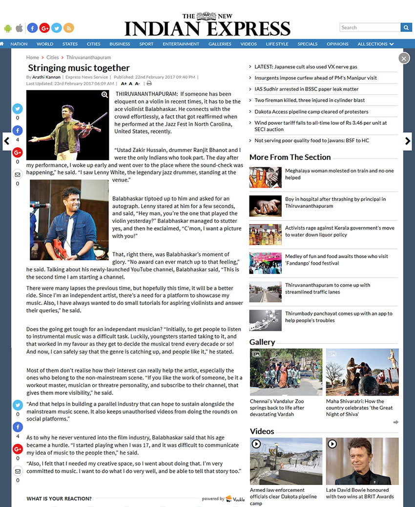 Balabhaskar In Media |Balabhaskar Facebook| News -balabhaskar in